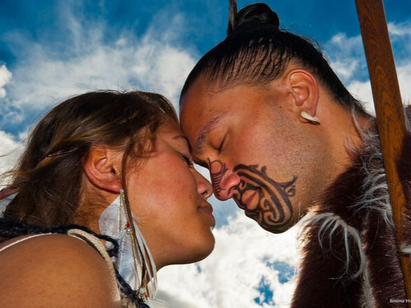 Hongi as a demonstration of deep, purposeful connection